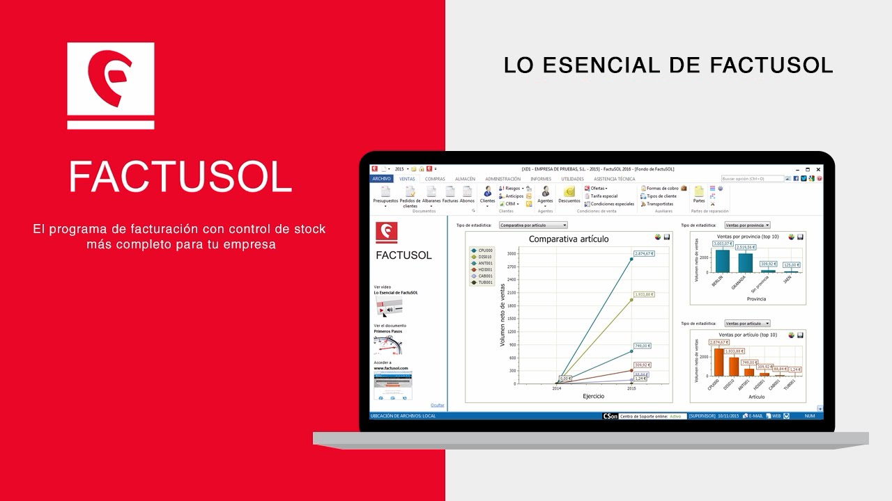 FACTUSOL Software de facturación