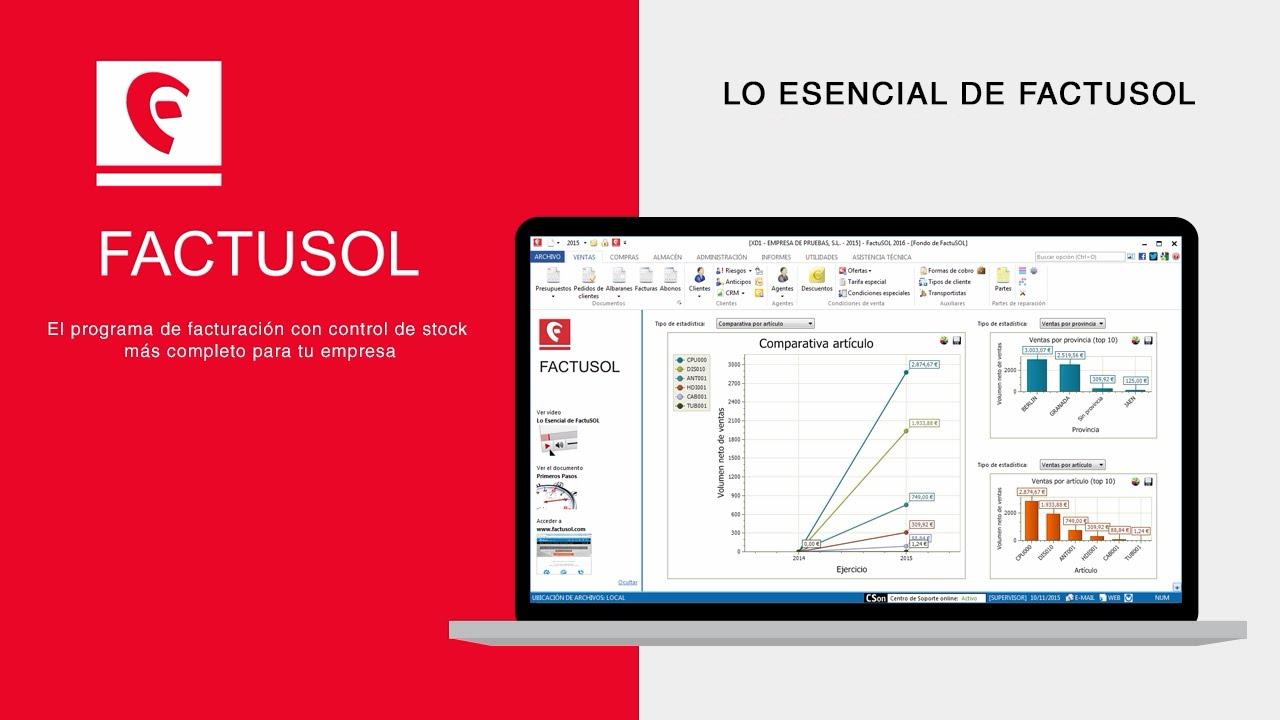 FACTUSOL Software de facturación